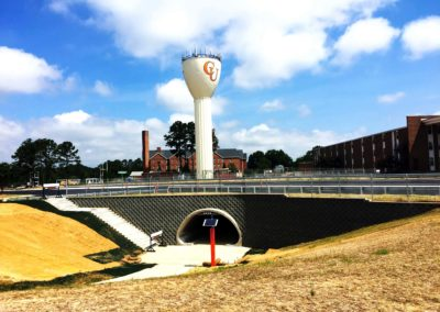 Campbell University Pedestrian Tunnel