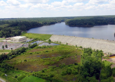 Smith Lake Reservoir and Dam