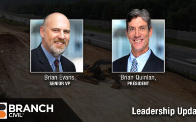 Branch Civil promotes Brian Quinlan to President, and Brian Evans to SVP
