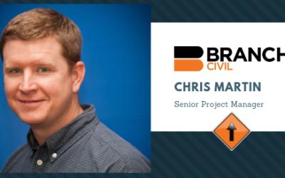 Chris Martin Joins Branch Civil Team