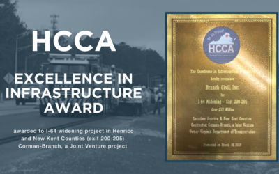 Infrastructure Award for Joint Venture Project