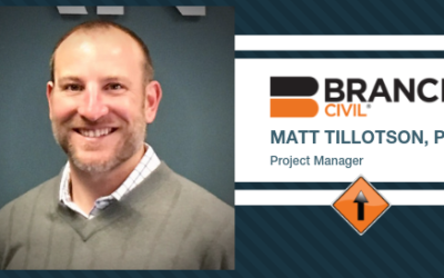 Tillotson Joins Branch Civil as Project Manager